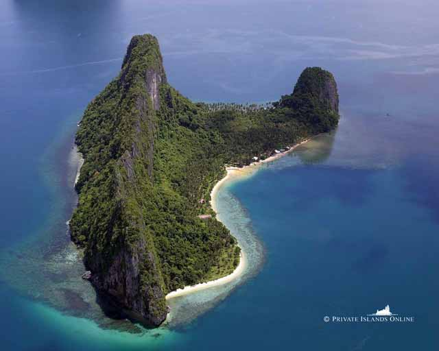Islet clipart landform Island that water a An