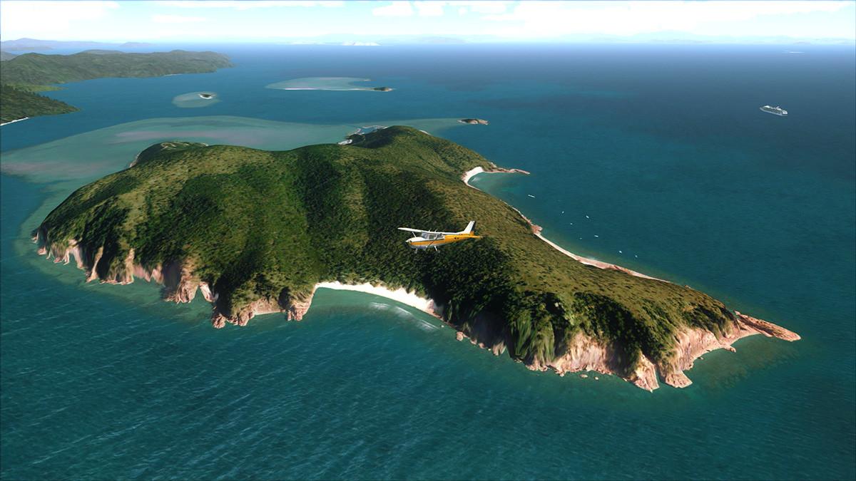 Islet clipart landform Southwestward the tend folded faulted