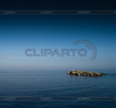 Islet clipart ocean sunset EPS 4 Vektor spacedrone808 ©