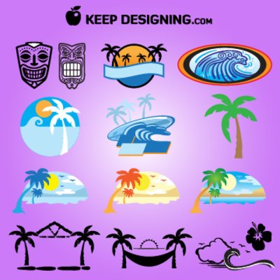 Islet clipart summer background Island Island Island Graphics Clip