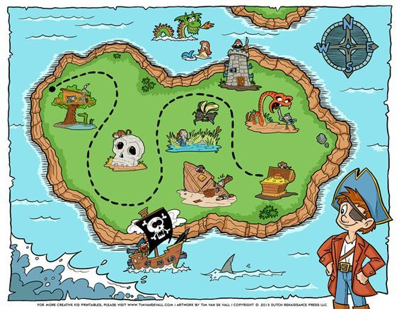 Islet clipart treasure map Treasure more Find Design Graphic