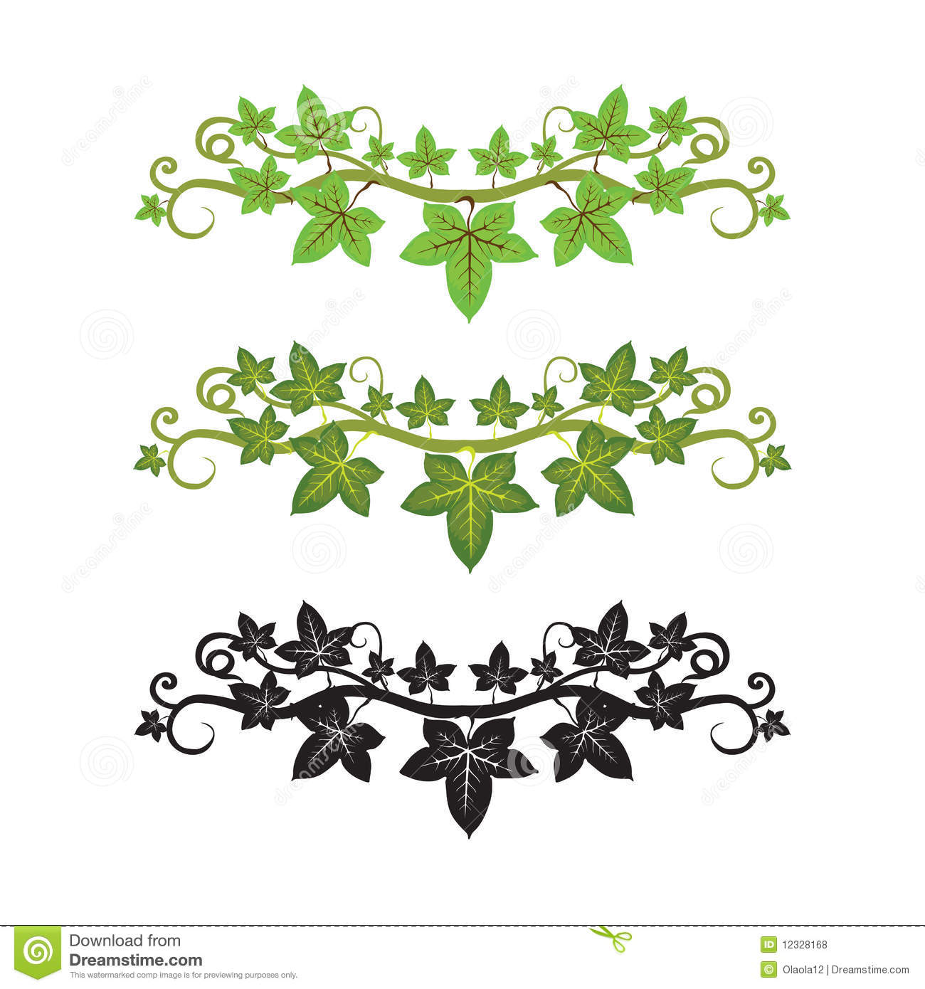 Lines clipart ivy Google art pattern one Ivy