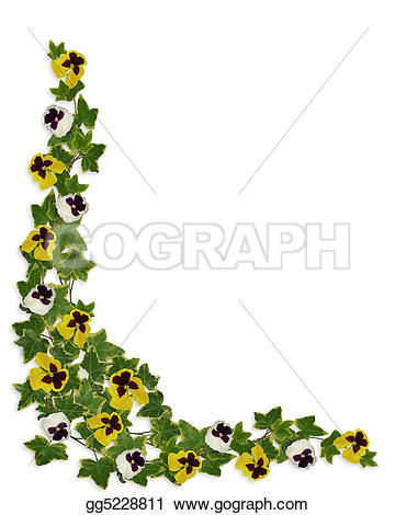 Ivy clipart border Floral and border Stock and