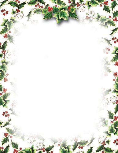 Ivy clipart holly and ivy Letterhead Ivy and Christmas 8