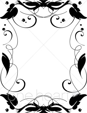 Ivy clipart simple Ivy Clipart Clipart Border Borders