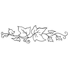 Ivy clipart simple Pinterest Personal leaf Ivy Stamp