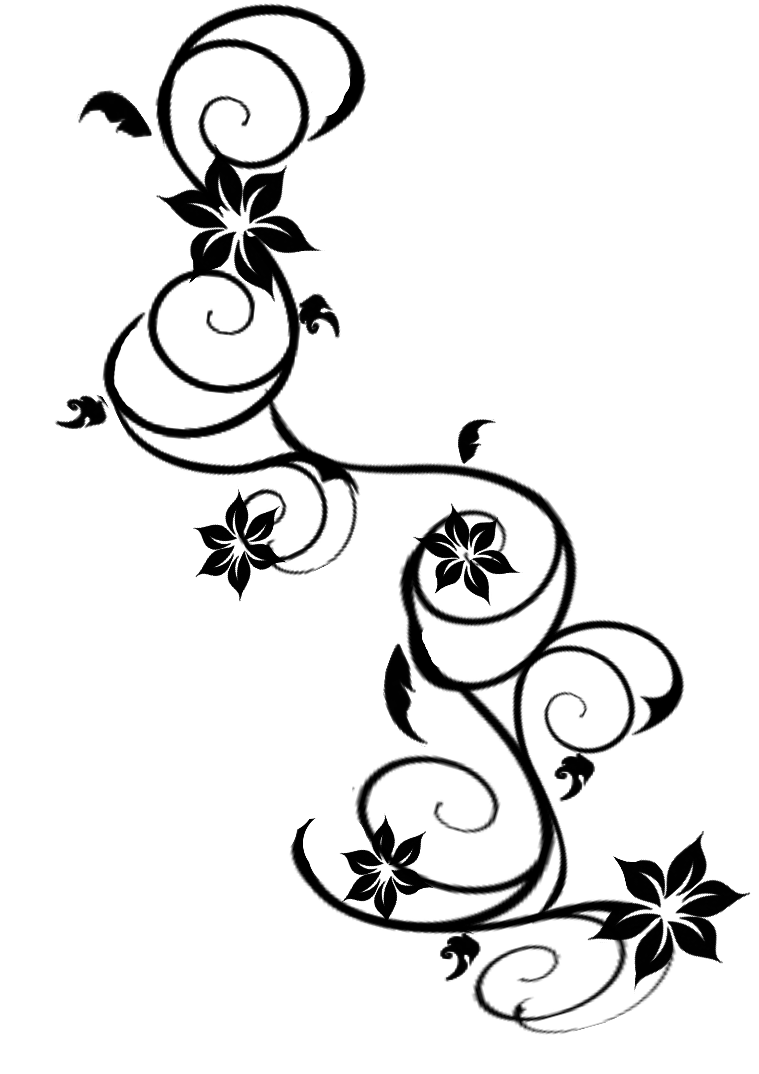 Ivy clipart tribal Free Tattoos Art Download Library