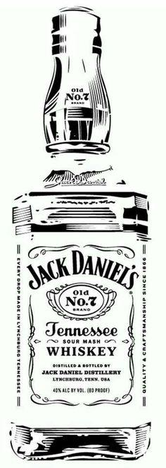 Jack Daniels clipart Pinterest Pyrography Jack Daniel's Old