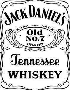 Jack Daniels clipart Daniel's white daniels Pinterest logo