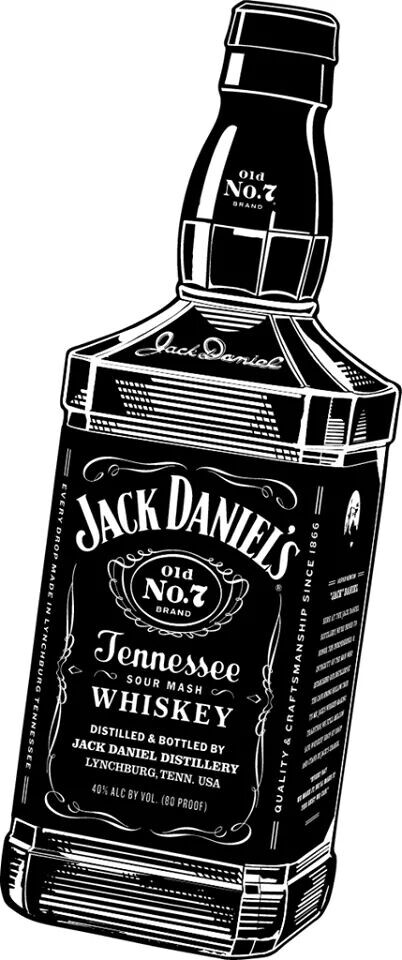 Jack Daniels clipart Classic Jack Find Pin whiskey
