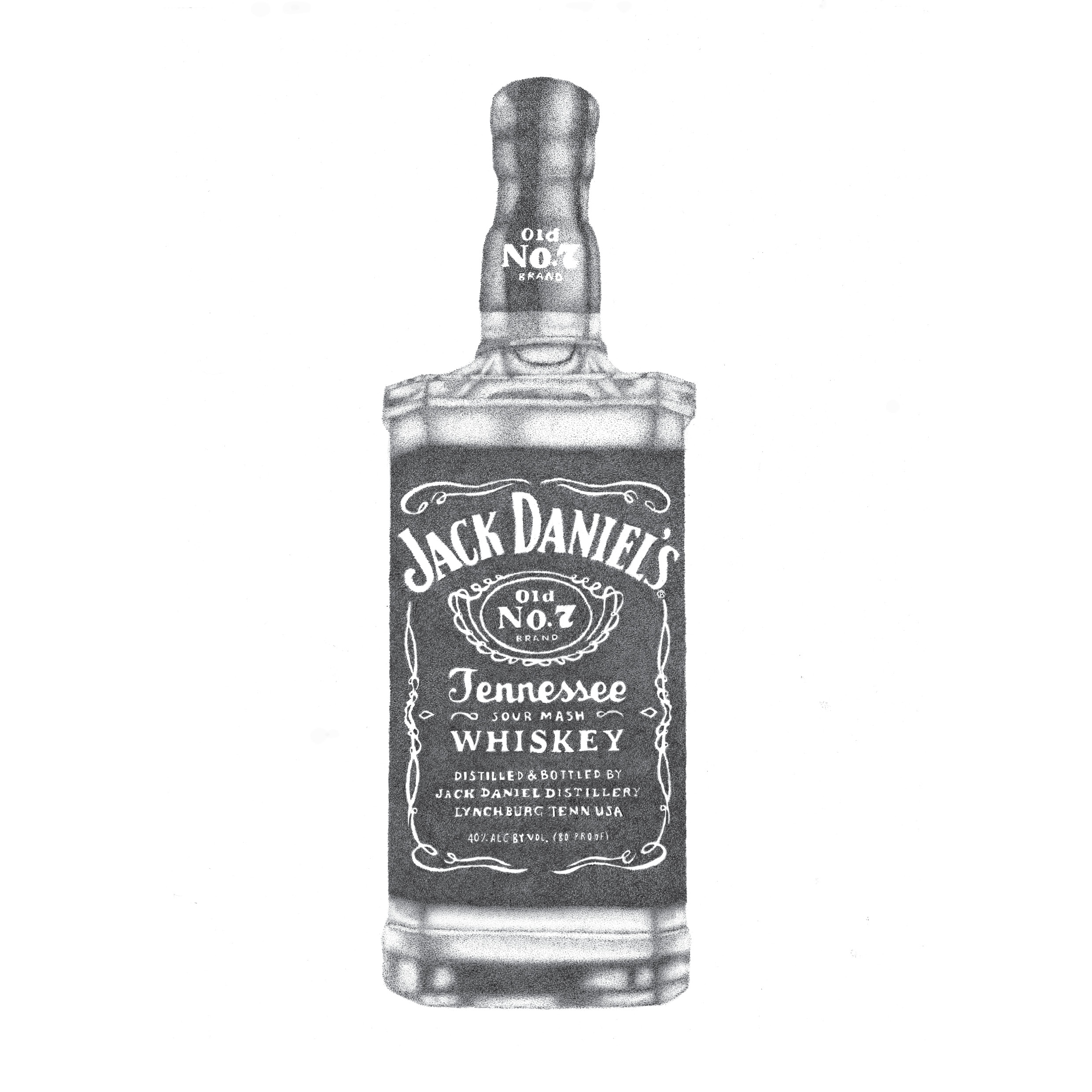 Jack Daniels clipart Bottle My drawing and Jack