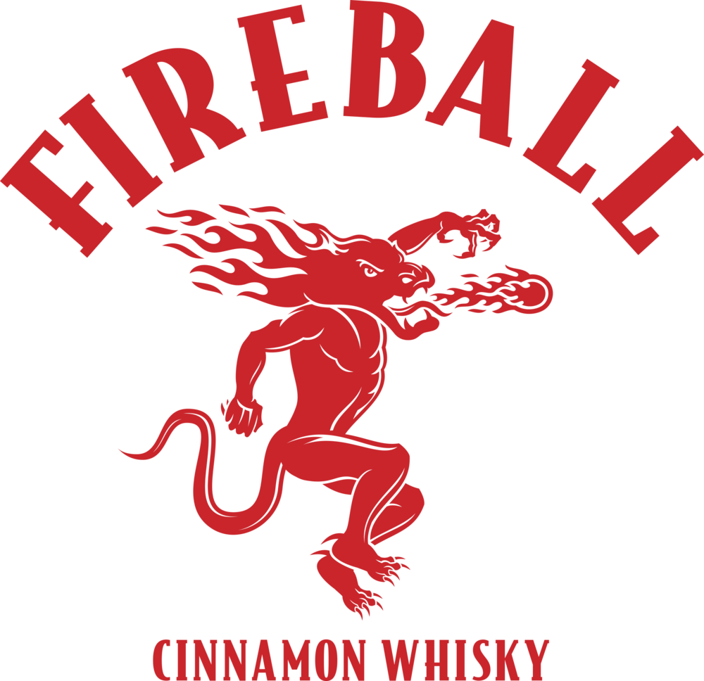 Jack Daniels clipart scotch whisky Spirits Logo — Bottle Fireball