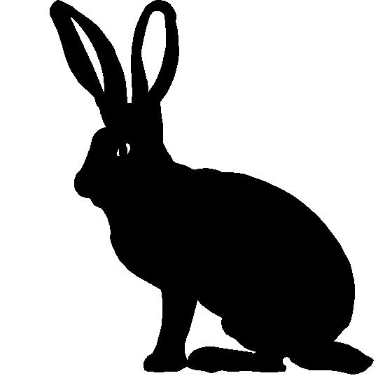 Hare clipart silhouette 96 Jackrabbit Clipart Jackrabbit Image