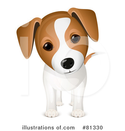 Jack Russell Terrier clipart By Oligo Royalty Stock Illustration