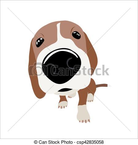Jack Russell Terrier clipart Vector Illustration Jack of head