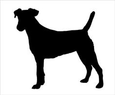 Jack Russell Terrier clipart Etsy Free Jack Pug silhouette