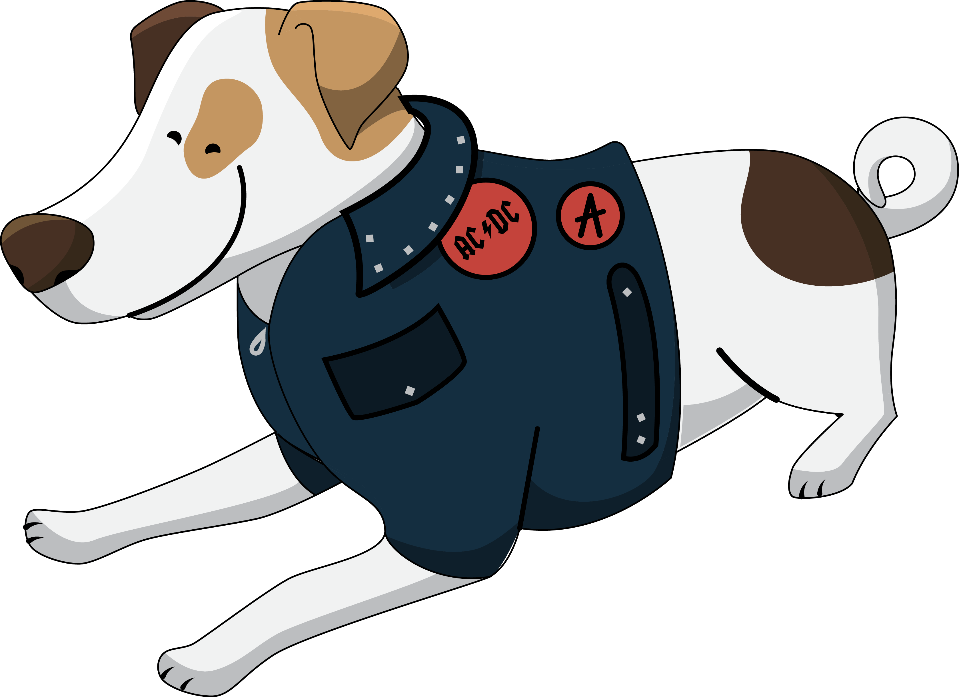 Jack Russell Terrier clipart To Use Free & Clip
