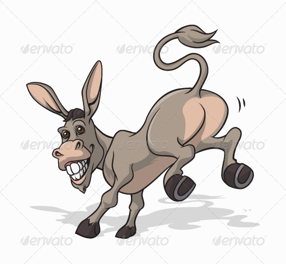 Jackass clipart Jackass Art Related Donkey Funny