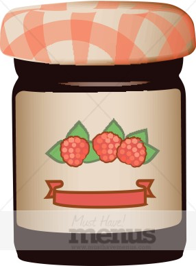 Jam clipart Jar Fruit Jar Clipart Clipart