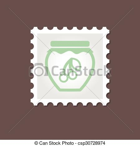 Jam clipart outline Illustration Outline csp30728974 jar jar