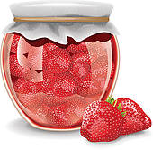 Jam clipart stawberry Strawberry Free Strawberry Jam GoGraph