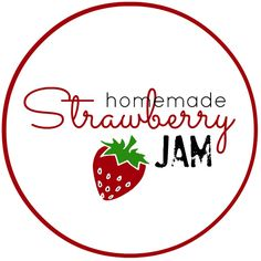 Jam clipart stawberry Jam Label Canning Homemade Ideas