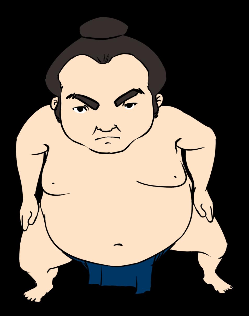 Wrestler clipart sumo wrestler Sumo to Wrestler & Clip
