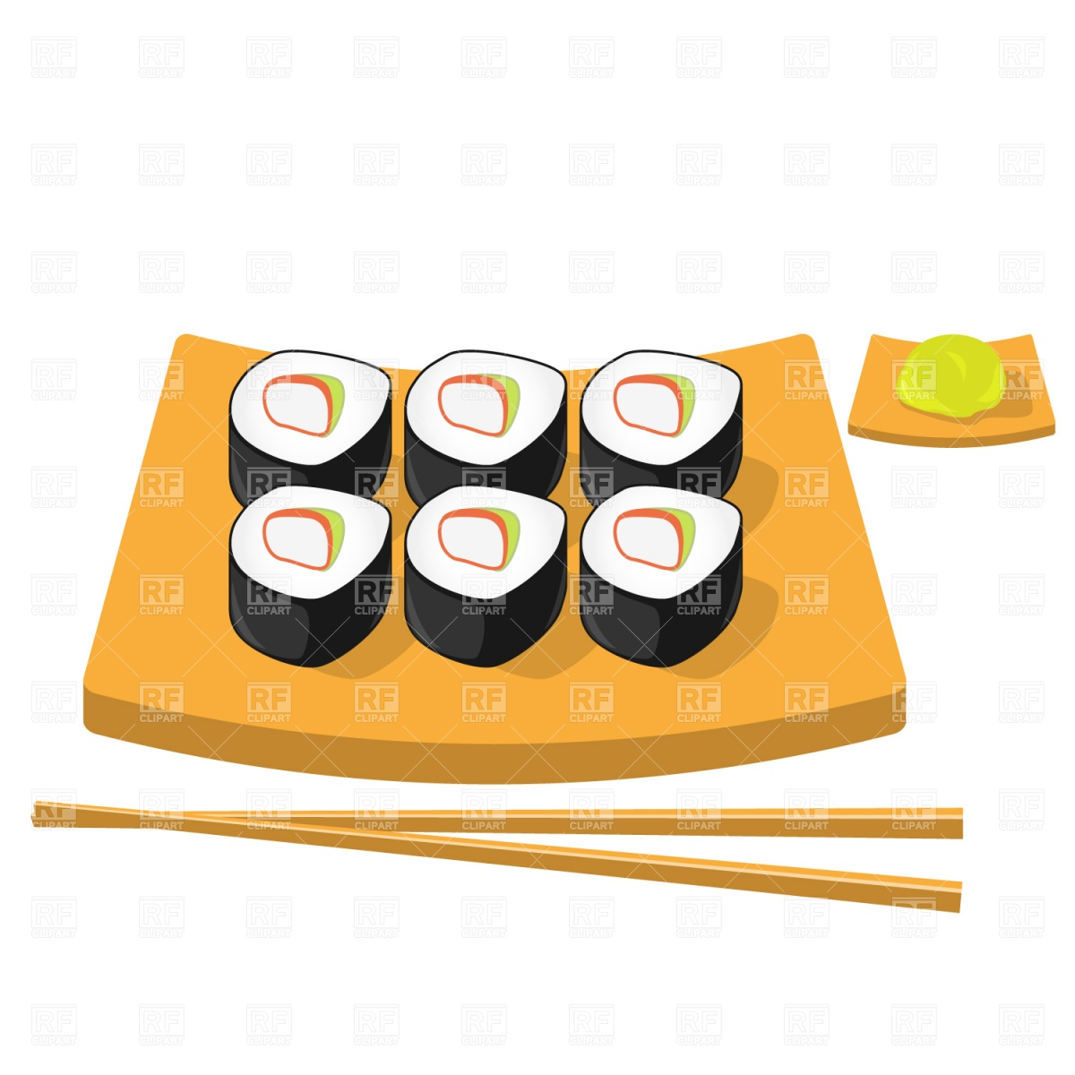 Sushi clipart vector Sushi%20clipart Free Sushi Clipart Free