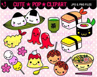Japanese Food clipart SushiFood sushi Comida Dibus Pin