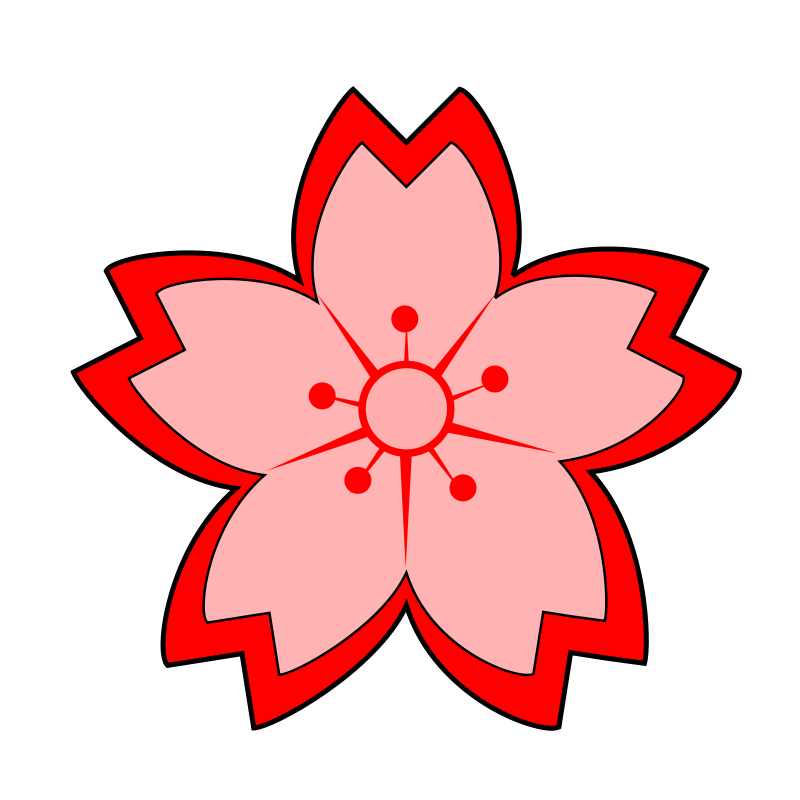 Sakura Blossom clipart cartoon #3