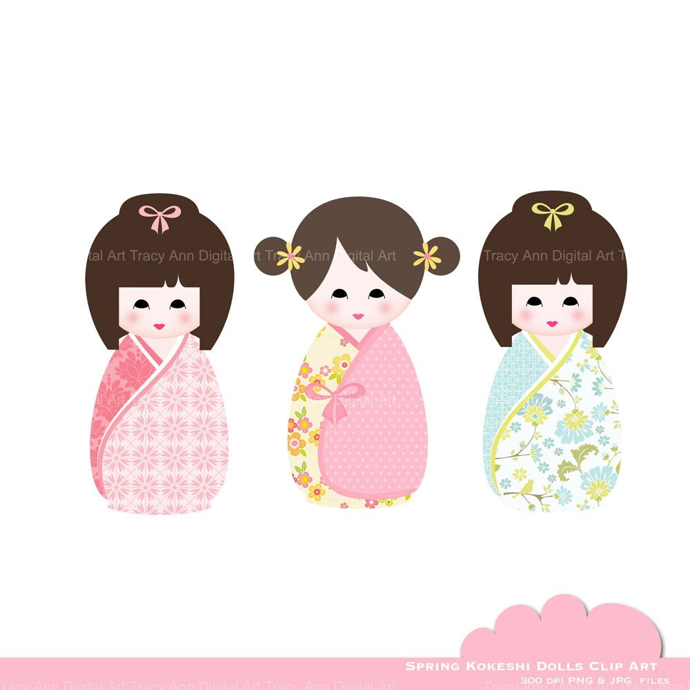 Doll clipart digital EasyPeach Download from Doll Doll