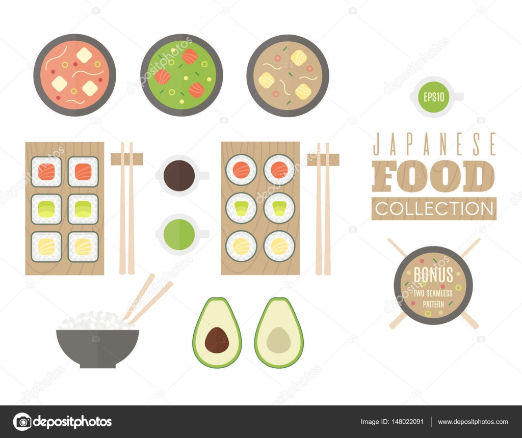 Japanese Food clipart soup Sauce food avocado Japanese Japanese