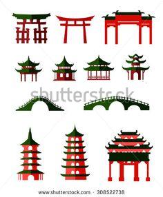 Japanese Garden clipart Bridge Clipart Clip Art Bridge