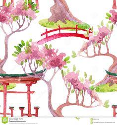 Japanese Garden clipart Pinterest pattern art icon sushi