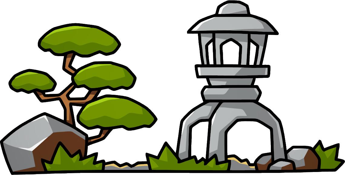 Japanese Garden clipart japanese tree By  Wiki Scribblenauts Garden