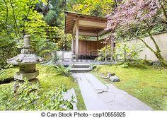 Japanese Garden clipart landscape design Lantern kit build shed own