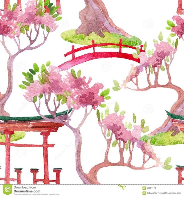 Japanese Garden clipart japanese tree Garden Japanese shrine japanese on
