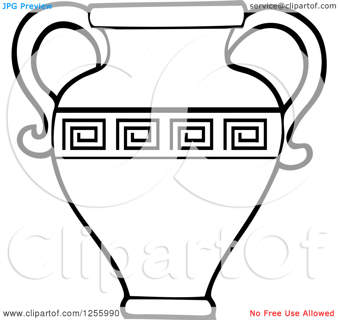 Ancient clipart jug #1