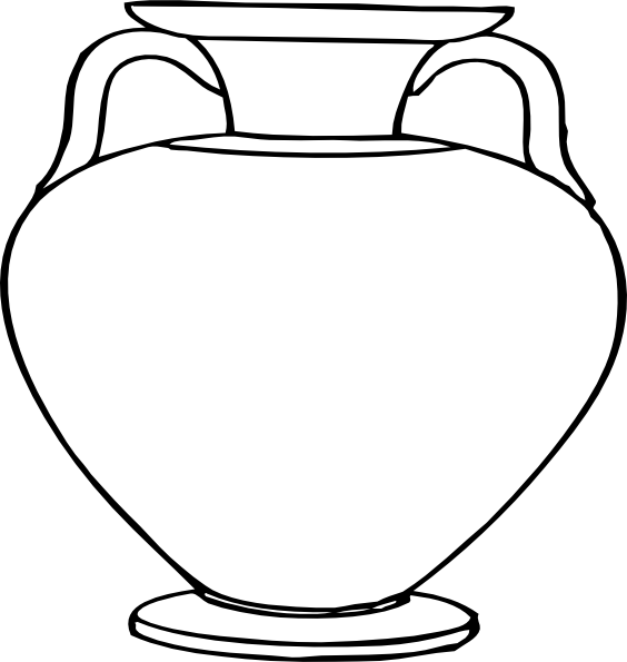 Needless clipart outline Outlines Greek art vector clip