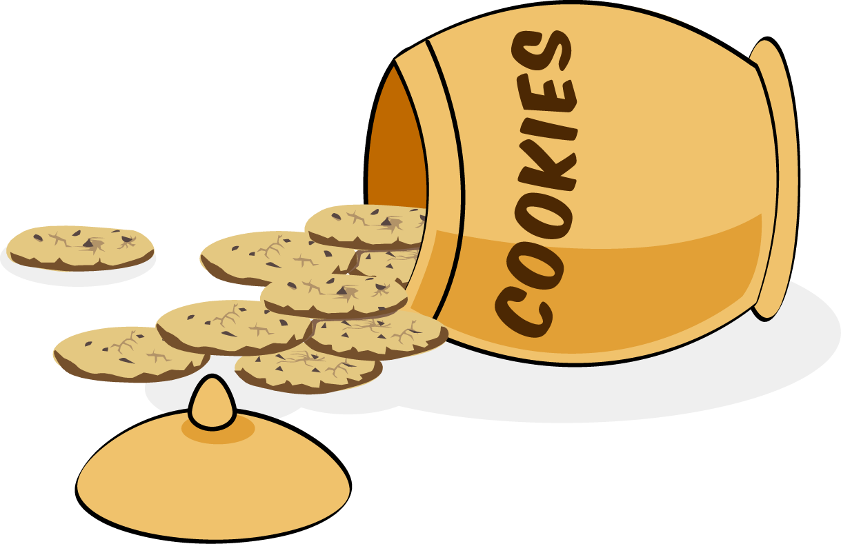 Brownie clipart plate Free Art Cookie Empty Cookie