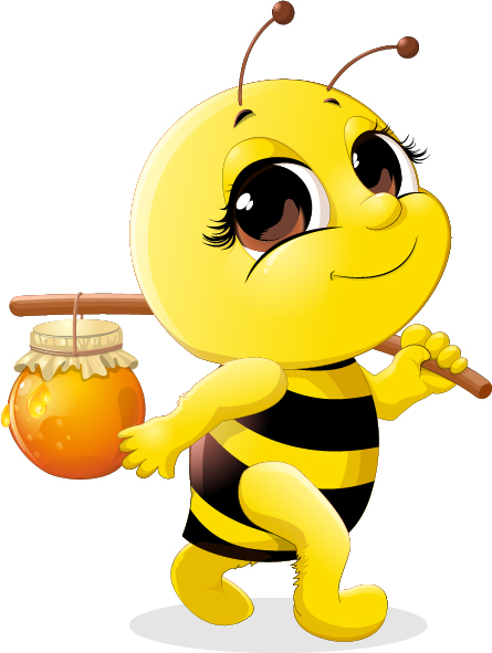 Bee Hive clipart animated baby Bee Illustration bee Cartoon Jar