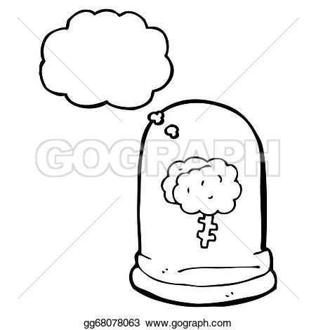 Bubble clipart jar Brain jar Clipart Drawing with
