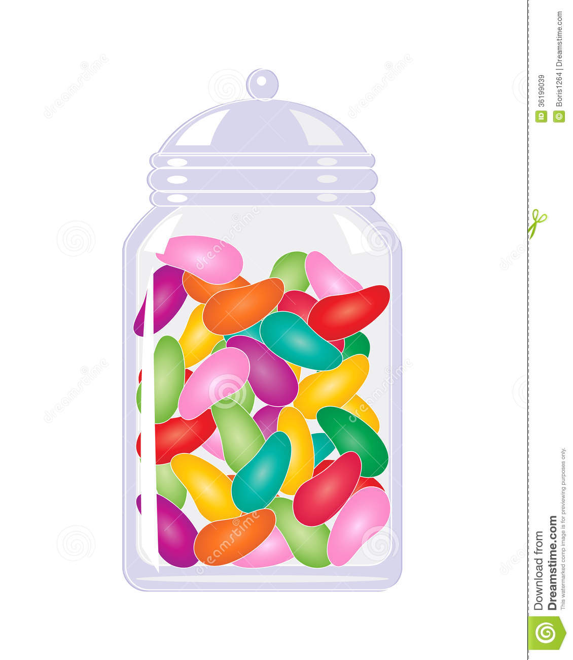 Jelly Bean clipart candy Candy Download Clip Jar Candy