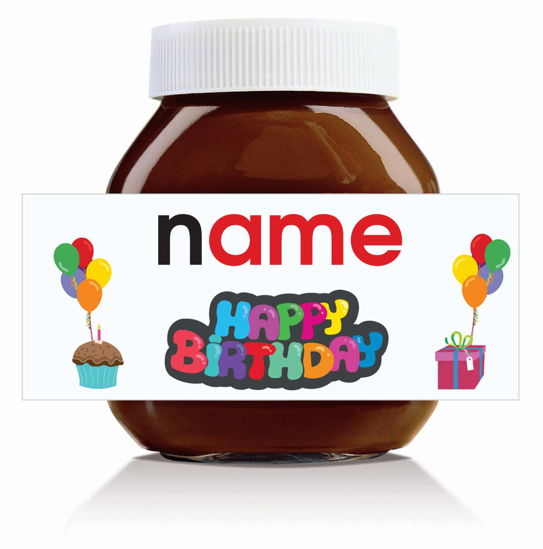 Jar clipart chocolate spread Etsy Birthday' 'Happy Nutella Jar!