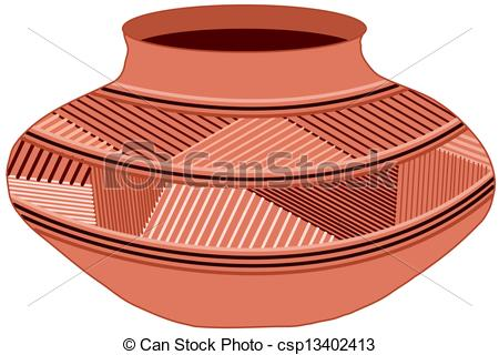 Jar clipart clay pottery Of csp13402413 pot  Clip