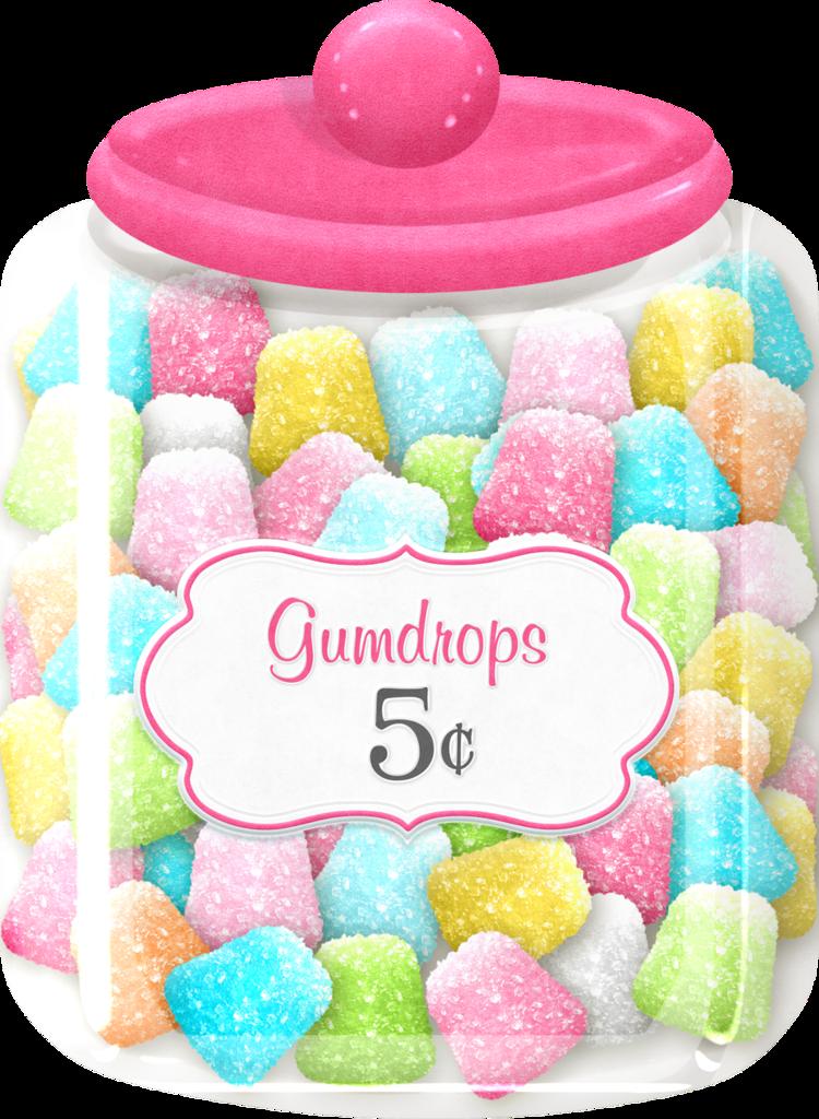 Jar clipart colorful candy Clip Shop*~ art art Clip
