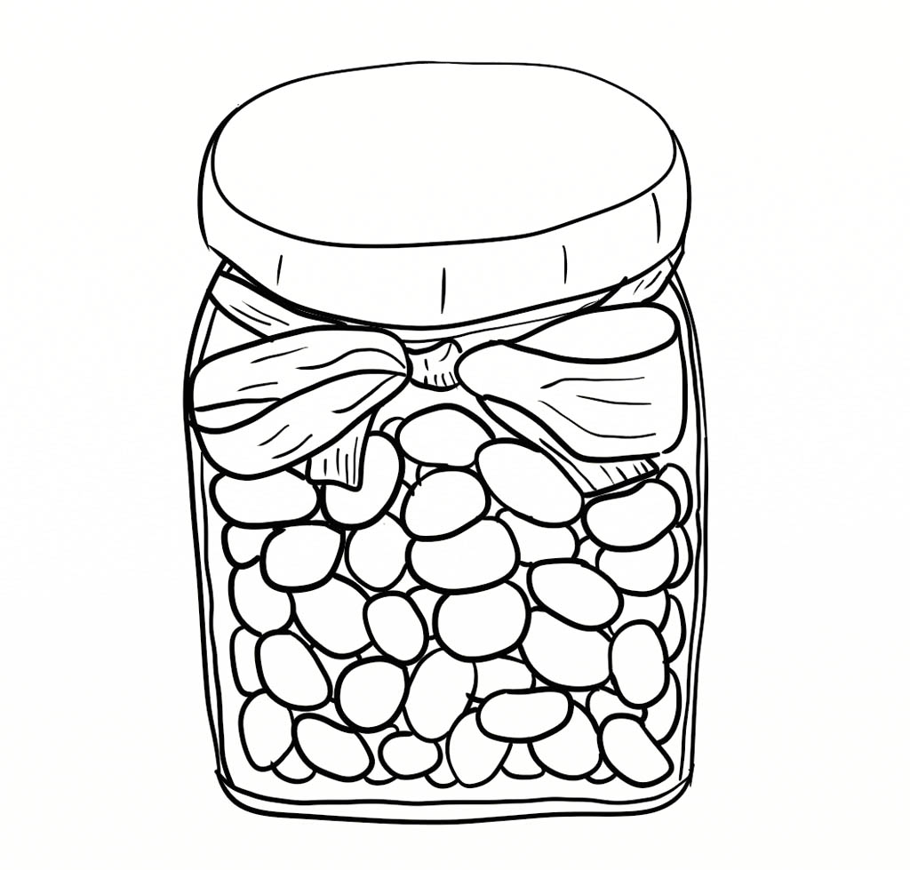 White clipart jelly bean Beans stuff In Page Page