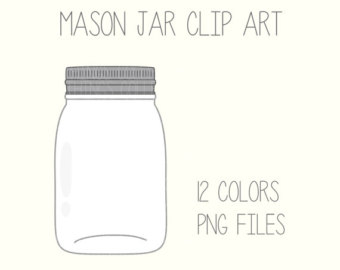 Jar clipart cute jar Etsy Download Art Scrapbook Printable