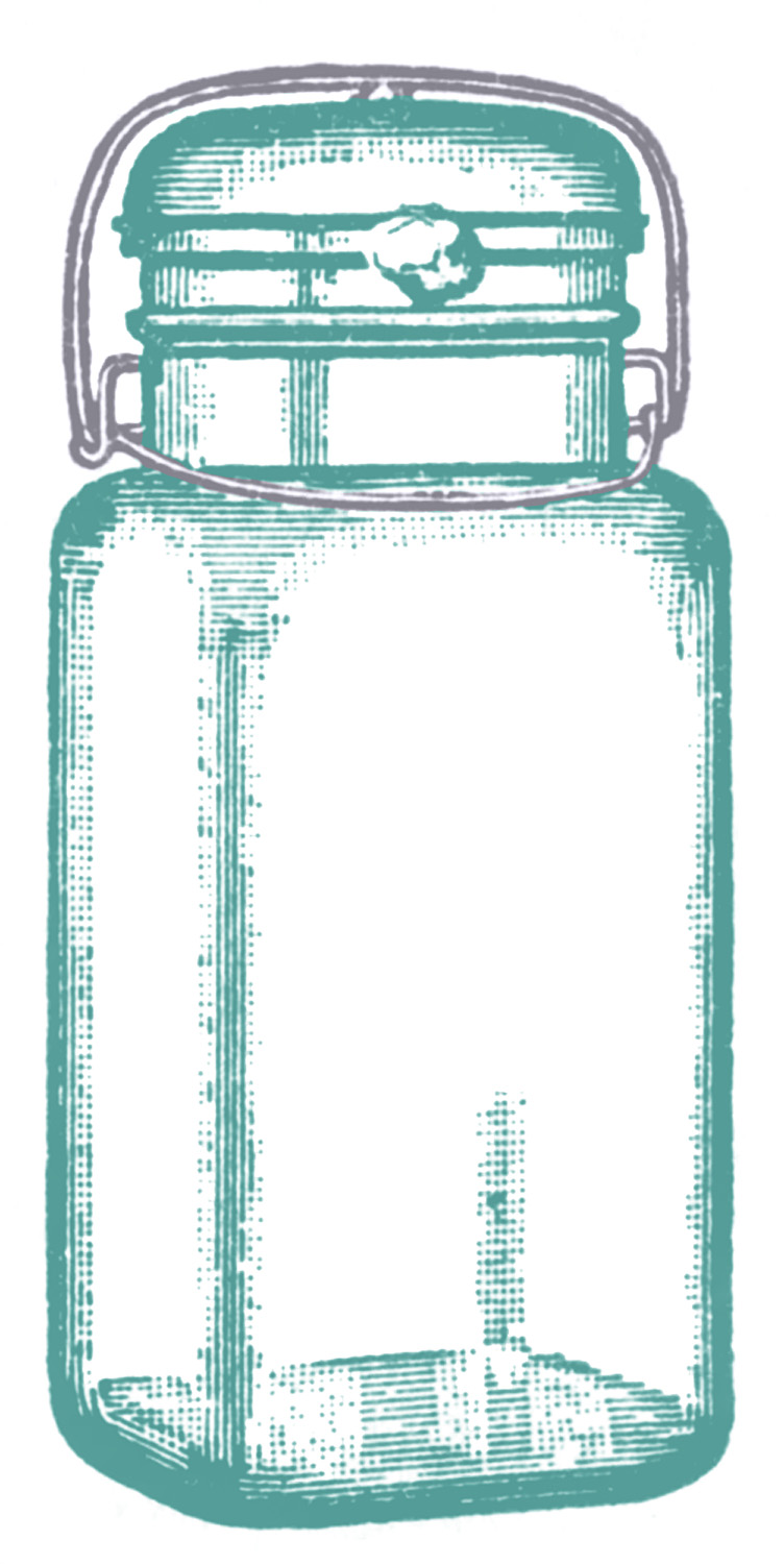 Jar clipart cute jar Graphics Vintage The Mason Clip