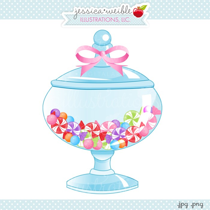 Jar clipart cute jar Graphic Candy candy jar Jar